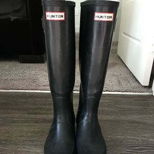 Hunter rain boots
